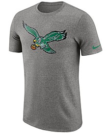 Men's Philadelphia Eagles Marled Historic Logo T-Shirt