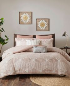 Ellipse Full/Queen 3 Piece Cotton Jacquard Comforter Set
