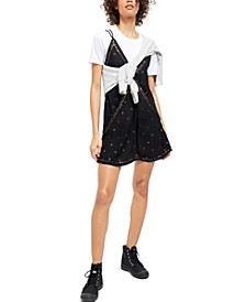 Chloe Embroidered Slip Dress