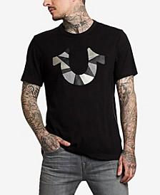 Men's Horseshoe Cut Up Graphic T-Shirt