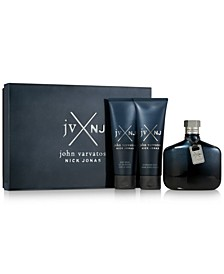 Men's 3-Pc. JVxNJ Blue Edition Gift Set