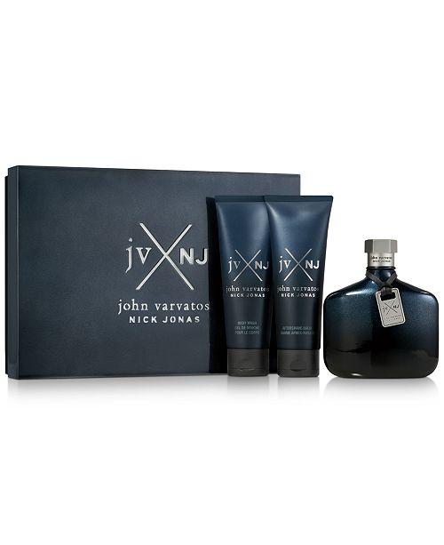 John Varvatos Men's 3-Pc. JVxNJ Blue Edition Gift Set