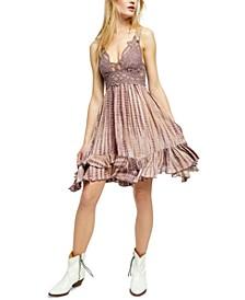 Adella Lace Tie-Dye Mini Dress