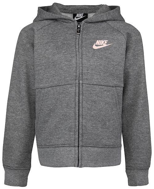 Nike Little Girls Fleece Hoodie
