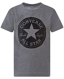 Converse Big Boys Chuck Patch Logo T-Shirt