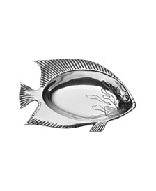 Wilton Armetale Sealife Small Fish Bowl