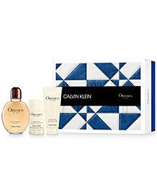 Calvin Klein Men's 3-Pc. Obsession Gift Set