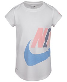 Little Girls Futura-Print T-Shirt