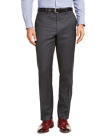 Lauren Ralph Lauren Men's Classic-Fit UltraFlex Stretch Gray Suit Pants