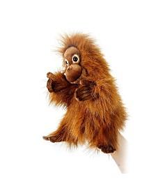 Hansa Orangutan Hand Puppet Baby Plush Toy