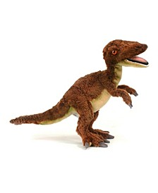 """Velociraptor 19"""" Dinosaur Plush Toy"""