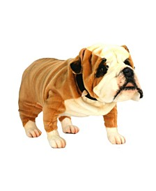 "British 30"" Bulldog Plush Toy"