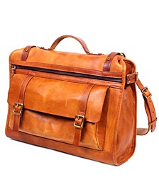 Stone Cove Leather Briefcase