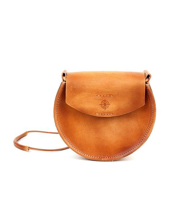 OLD TREND Luna Leather Crossbody Bag