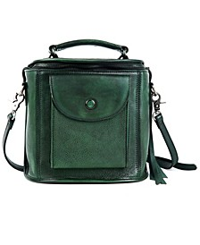 Isla Leather Crossbody Bag
