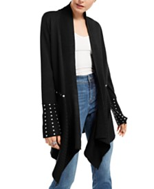 I.N.C. Studded Cardigan Sweater, Created for Macy's