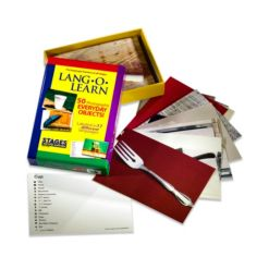 Stages Learning Materials Lang-o-Learn Esl Vocabulary Cards Flashcards, Everyday Objects