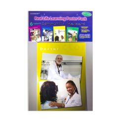 Stages Learning Materials Real Photo Community Helper Poster Set