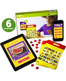 Stages Learning Materials Link4Fun Real Photo Fun Foods Bingo Game