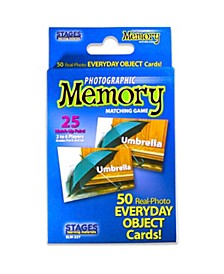 - Picture Memory Card Game - Everyday Objects