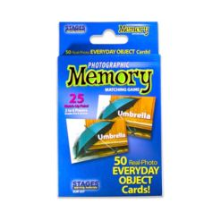 Stages Learning Materials - Picture Memory Card Game - Everyday Objects