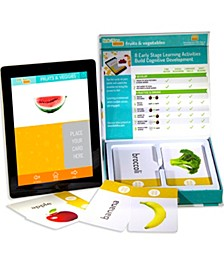 Link4fun Fruits Vegetables Interactive Flashcard Set With Free iPad App