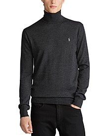 Men's Merino Wool Turtleneck Sweater