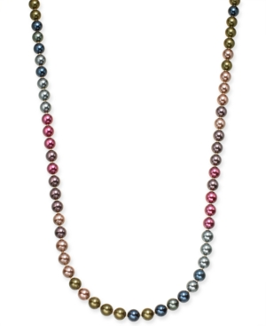 UPC 732997701706 product image for Charter Club Gold-Tone Imitation Pearl Strand Necklace, 60