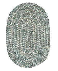 Tremont Teal 2' x 4' Accent Rug