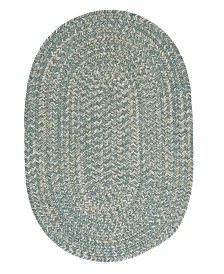 Colonial Mills Tremont Teal 2' x 4' Accent Rug
