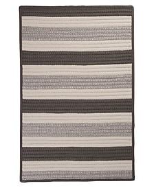 Stripe It Silver 2' x 3' Accent Rug