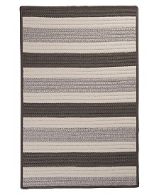 Colonial Mills Stripe It Silver 2' x 3' Accent Rug