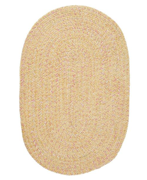 Colonial Mills West Bay Banana Tweed 2' x 4' Accent Rug