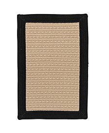 Bayswater Black 2' x 3' Accent Rug