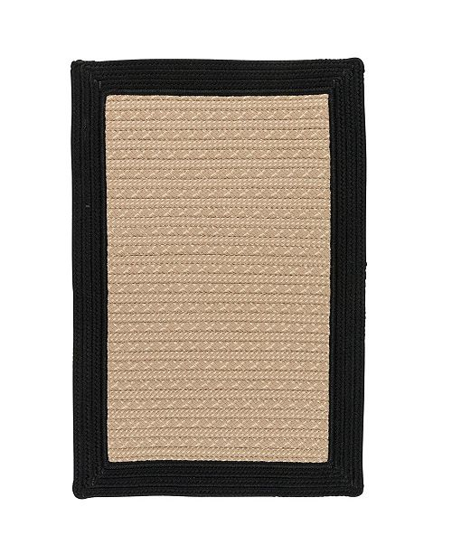 Colonial Mills Bayswater Black 2' x 3' Accent Rug