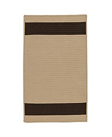 Aurora Sand Brown 2' x 4' Accent Rug