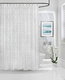 """Butterfly Home Fashions Bolinas Peva 70"""" x 72"""" Shower Curtain"""