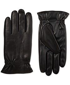 Men's SleekHeat Faux Nappa Gloves