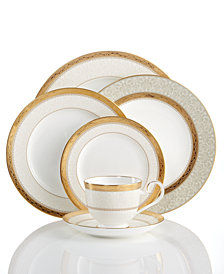 Noritake Dinnerware, Odessa Gold Collection