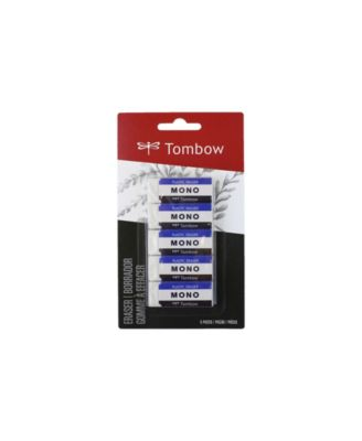 Tombow Mono Eraser, Small, 5-Pack