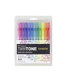 TwinTone Marker Set, Rainbow