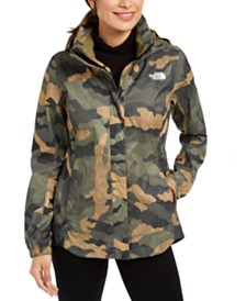 The North Face Camo-Print Hooded Raincoat