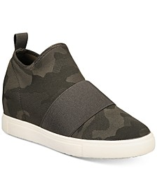 Quila Sock Wedge Sneakers, Created For Macy's