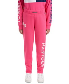 Tommy Hilfiger Big Girls 85 French Terry Jogger Pants