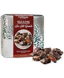 Milk & Dark Chocolate Sea Salt Caramels