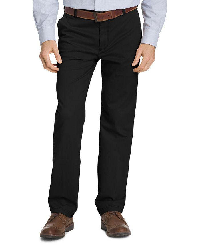 IZOD - Men's Straight-Fit Performance Chino Pants