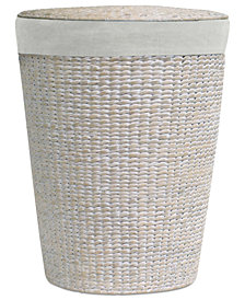Lamont Laundry Hamper, Makatea Upright Round