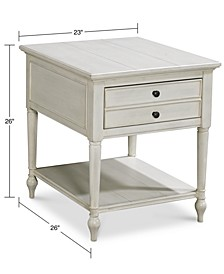 Sag Harbor White End Table