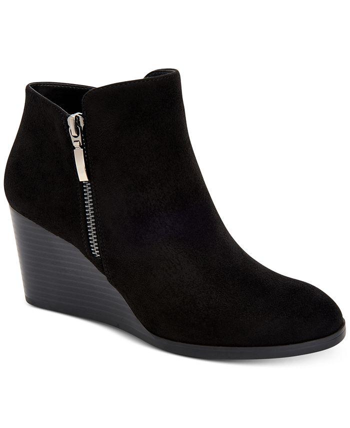 Style & Co - Wynonaa Wedge Booties