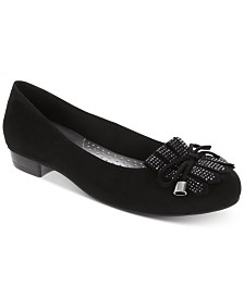Karen Scott Anabela Embellished Kiltie Flats, Created for Macy's